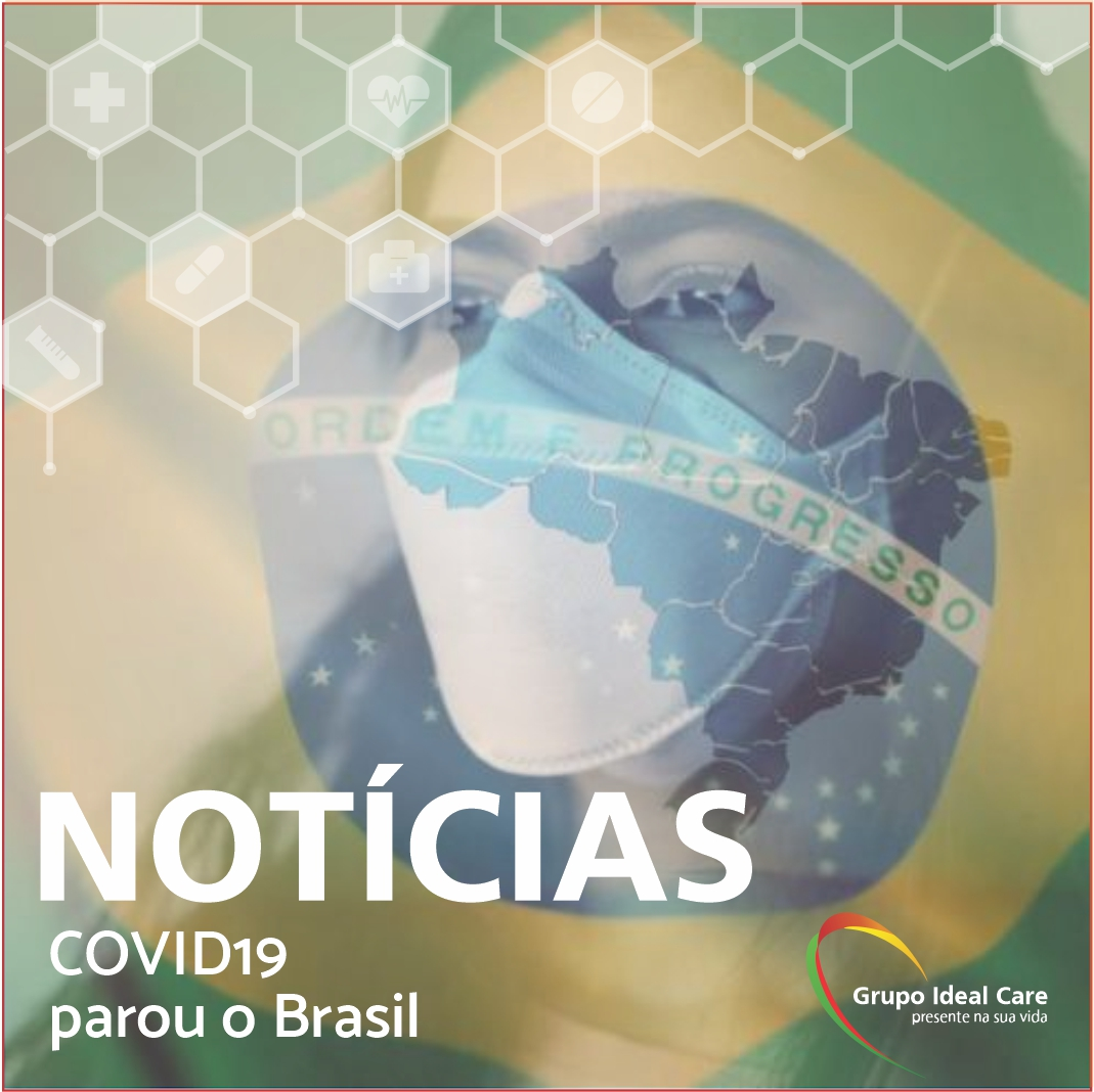 Como o coronavírus parou o Brasil